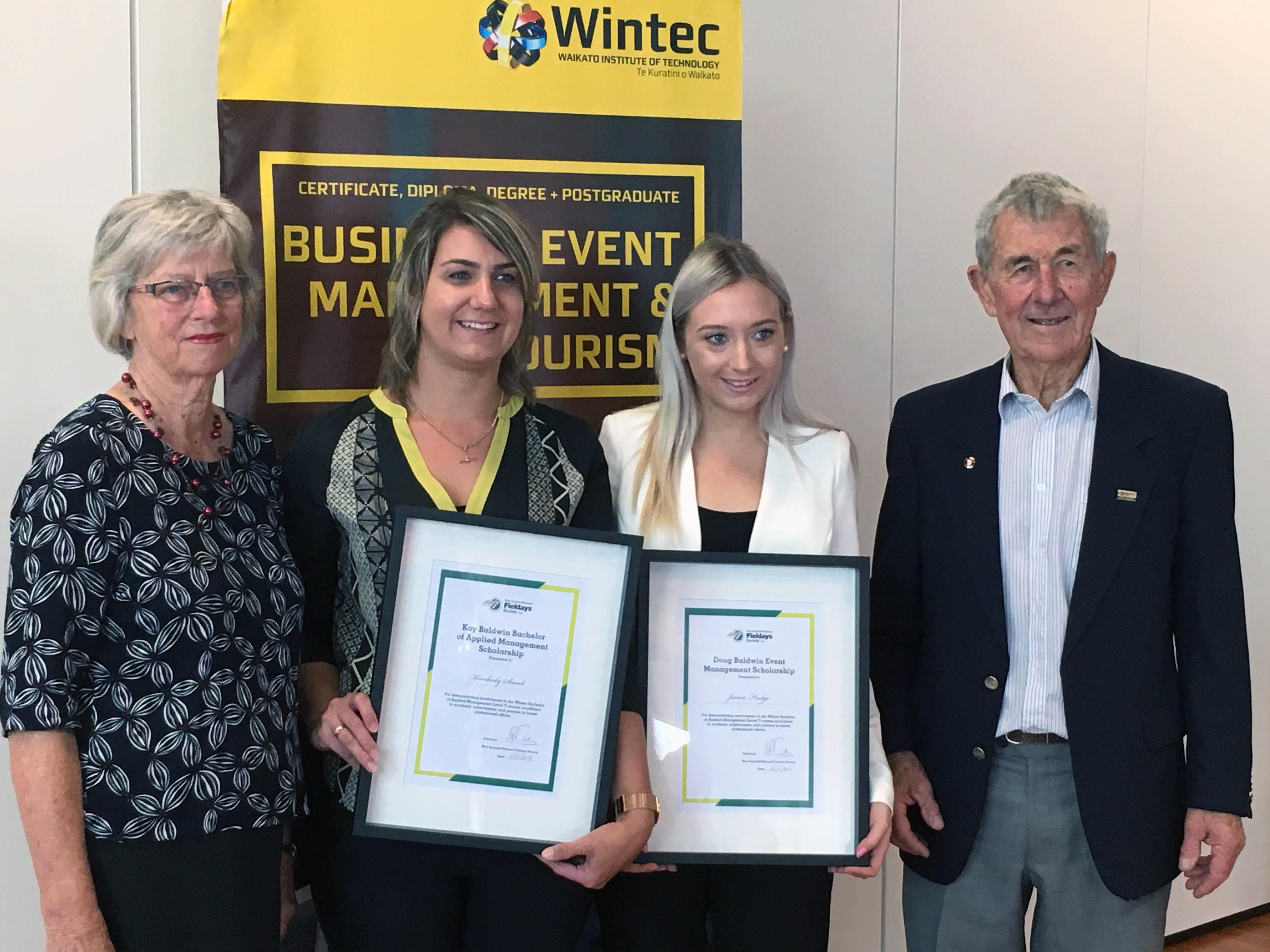 2018 Fieldays scholarship recipients