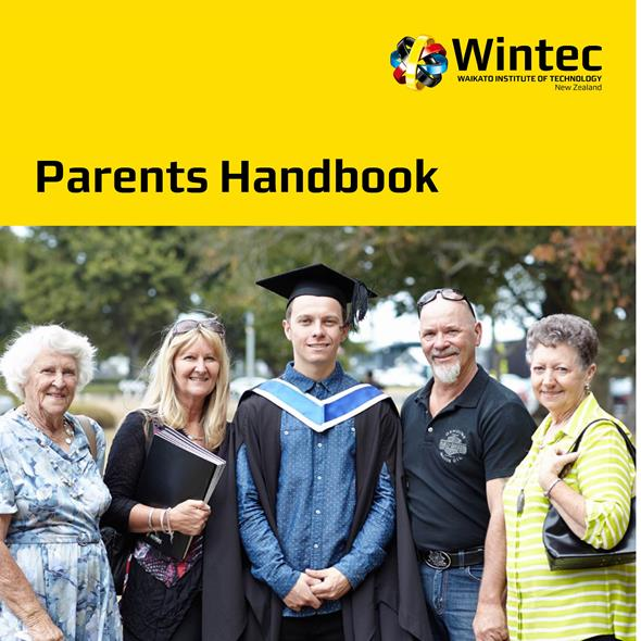 Parents Handbook cover