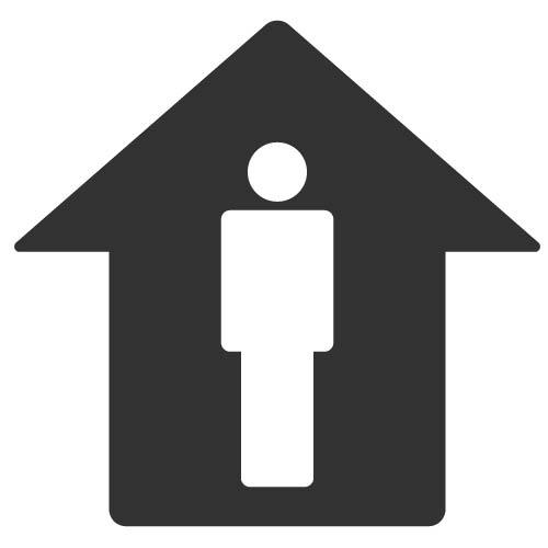 Residential Assistant on Site Icon