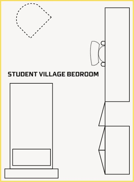Student Village Bedroom Plan