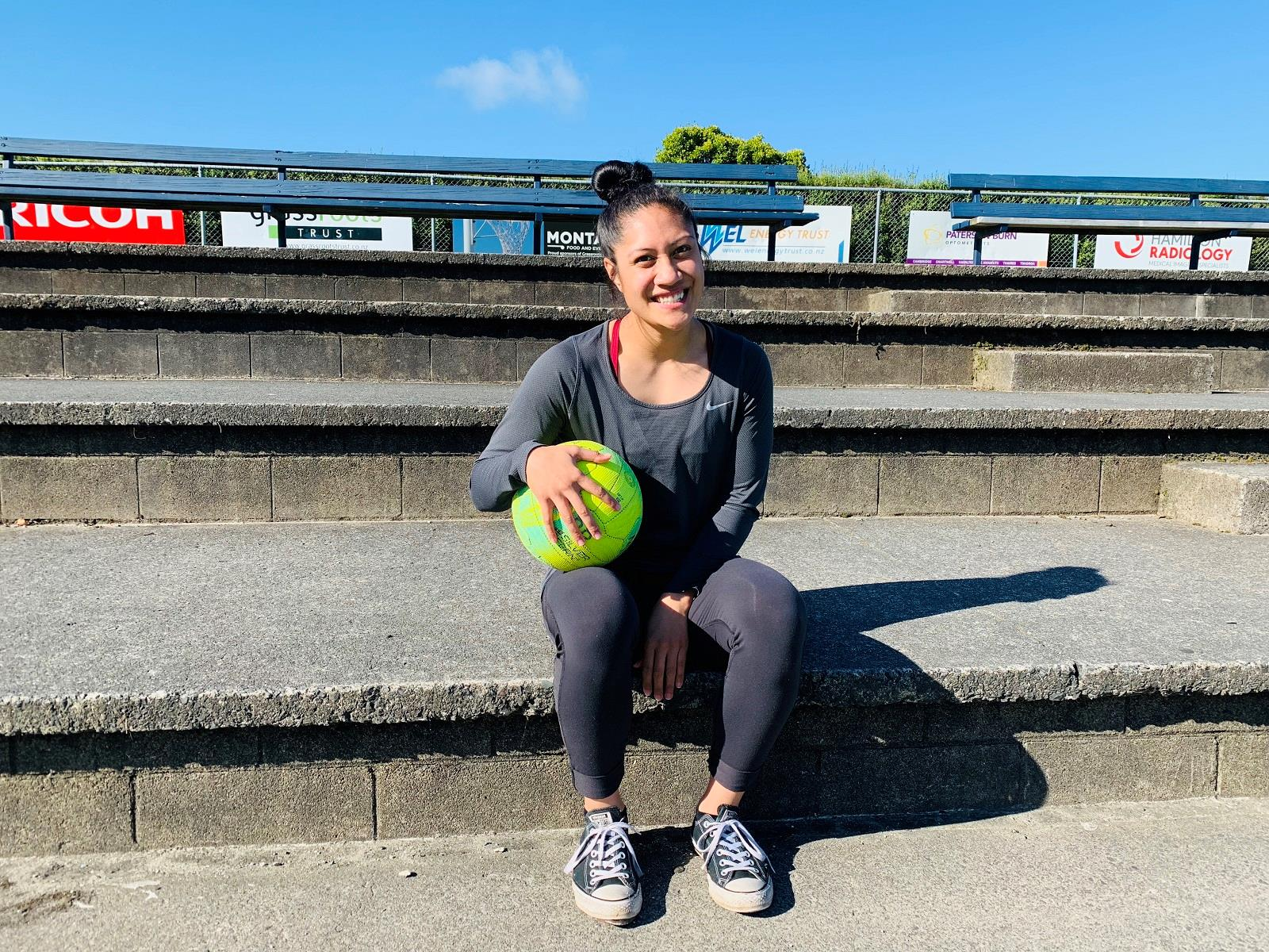 Wintec sport science student Terrina Chapman is working to reduce netball injury