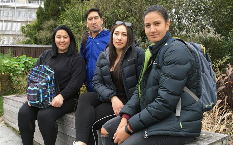 (From left-to-right) Ginnae Parai, Tiwai Parai, Kyler-Renee Parai and Arielle Parai.