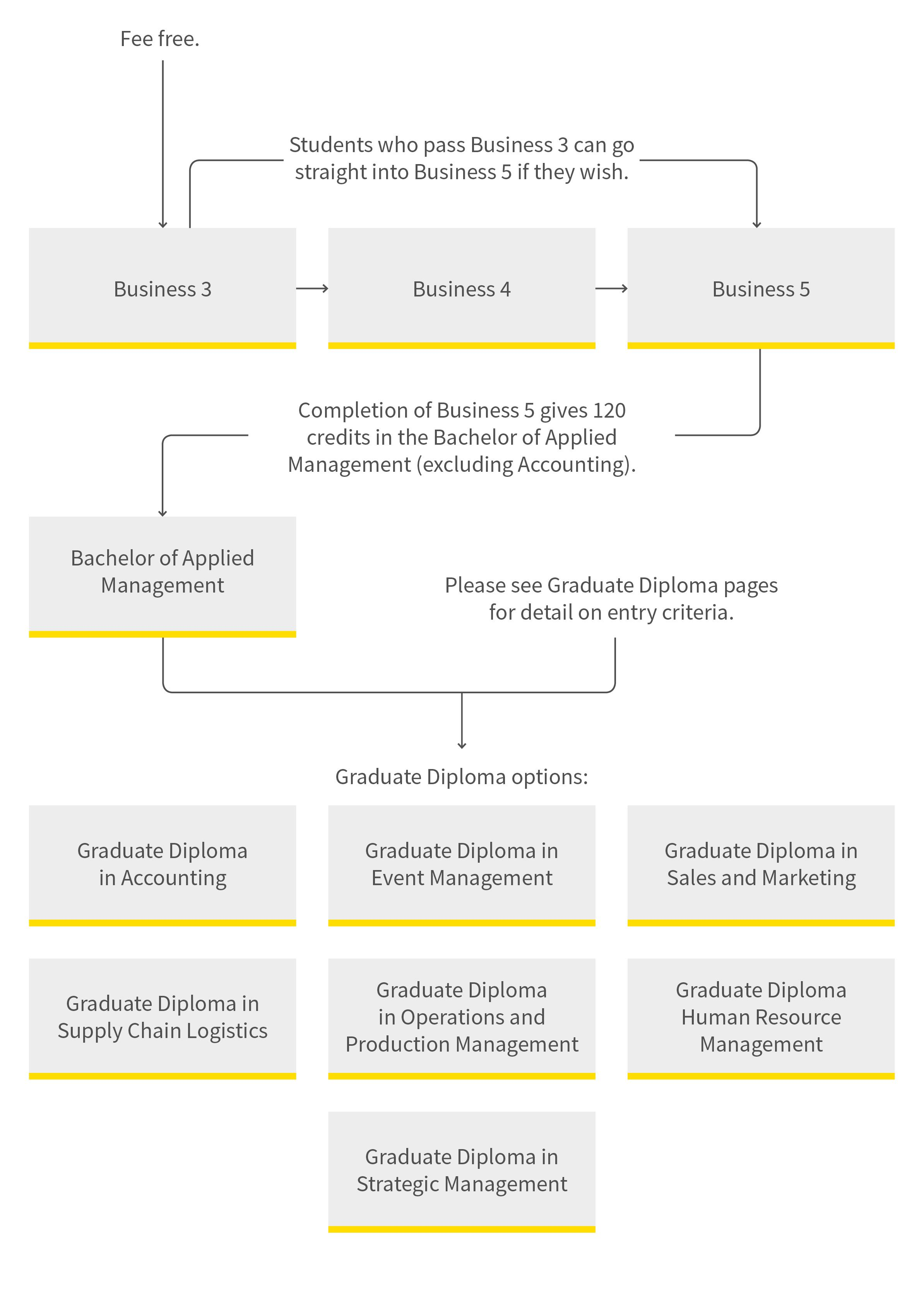 Business pathway diagram