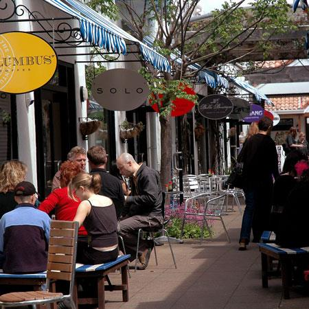 cafes in Hamilton city