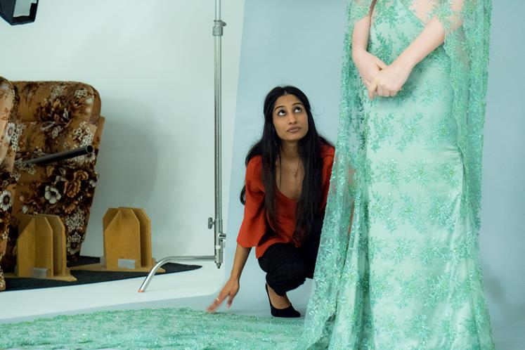 Sristi Kaur is preparing to take her designs to NZ Fashion Week