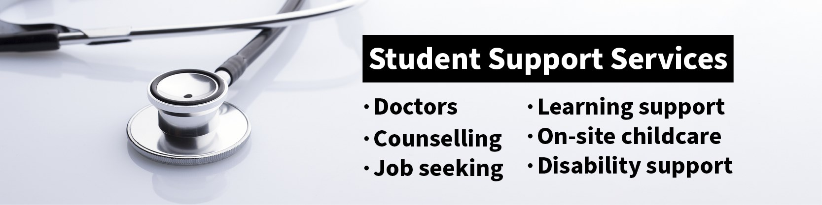 Student Support Services web banner
