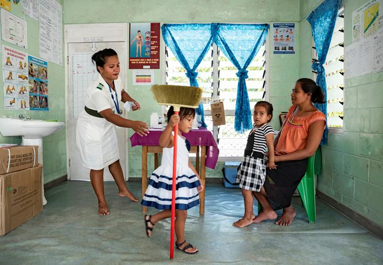 Wintec is developing nursing training for Kiribati to future proof careers.
