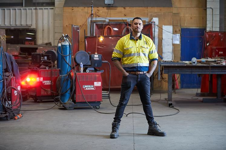 Tahiwi Magner graduated with a diploma in engineering from Wintec and hasn't looked back