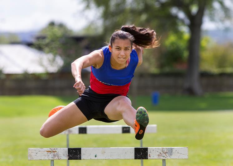 Cambridge High School student, Hinewai Knowles won top female athlete in Wintec's 2018 Champion of the Codes competition.