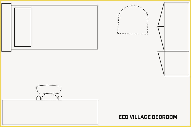Eco House Bedroom Plan