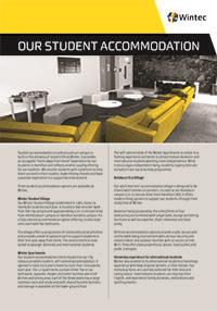 Our student accommodation profile cover