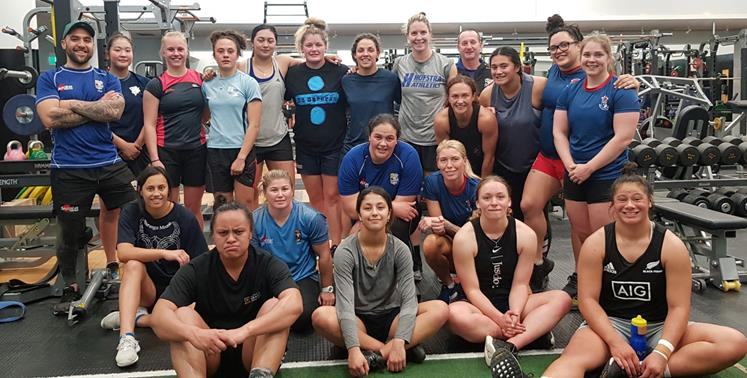 Slade King balances study, a family and coaches the BOP Volcanix women's rugby team