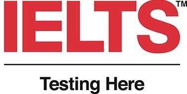 IELTS Testing Here Logo English Language 2019_10_22