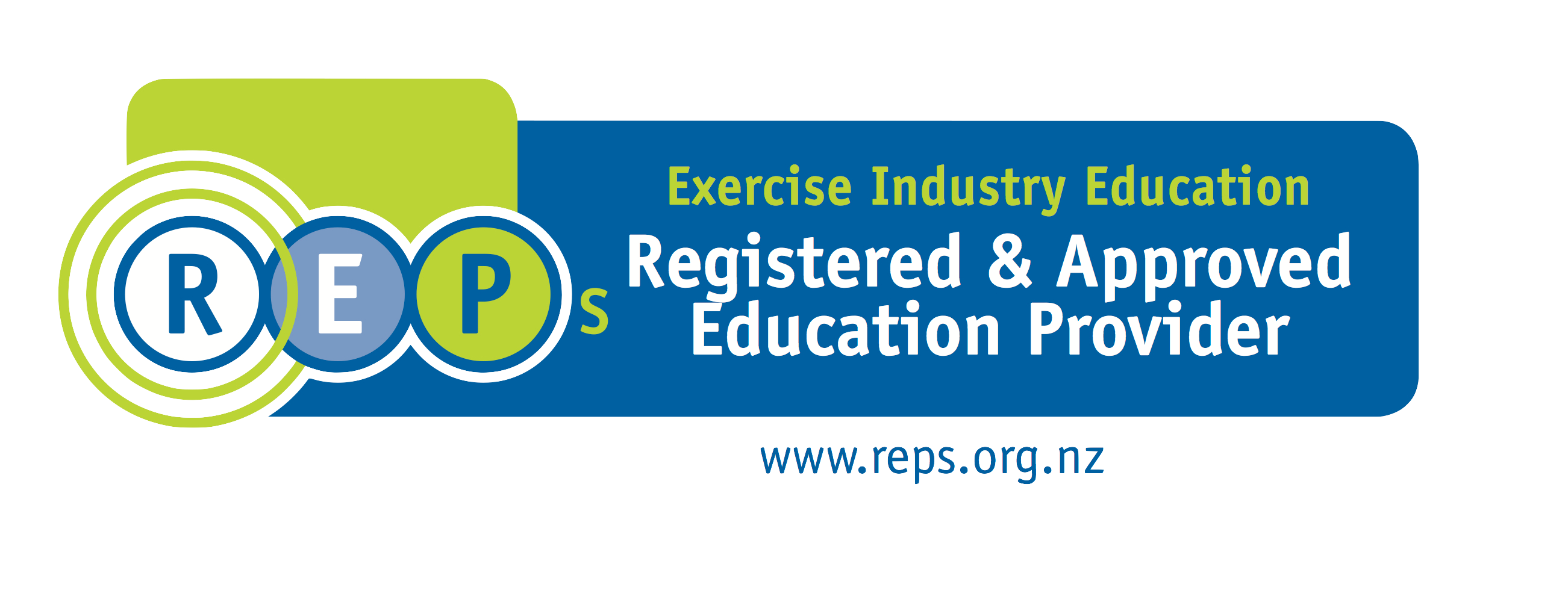 NZ Register of Exercise Professionals reps logo