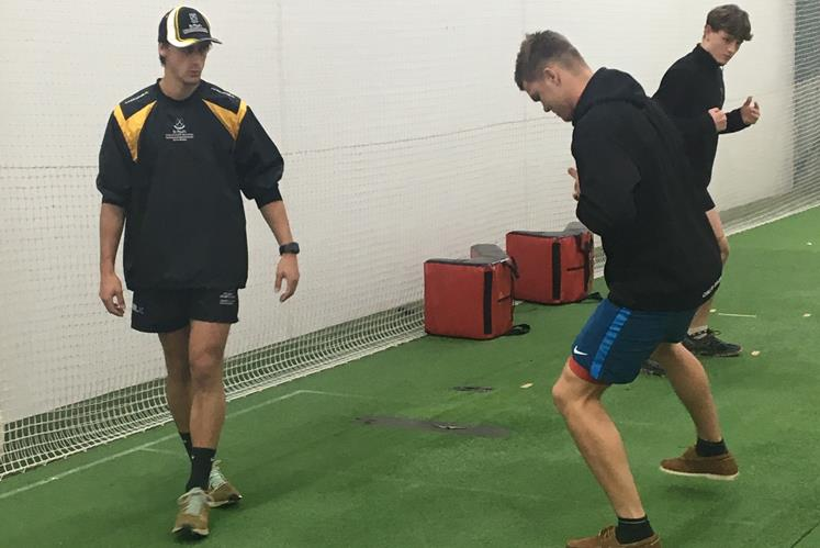 Wintec Masters student TJ Pieters works with St Pauls' 1st XV team