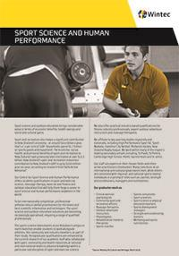 Sport science and human performance profile cover