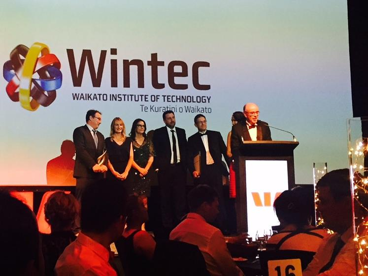 Wintec wins the Global Operator award at the Westpac Waikato Business Awards
