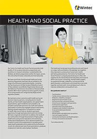 Health and Social Practice profile cover