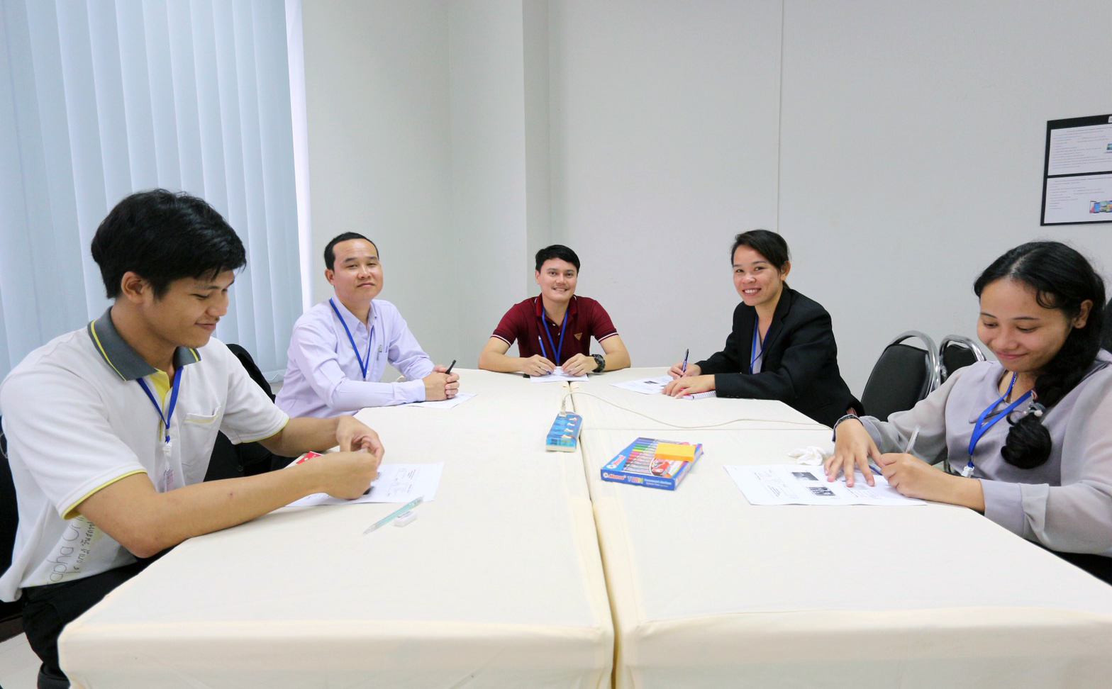 Five Thai teacher students trained by Wintec