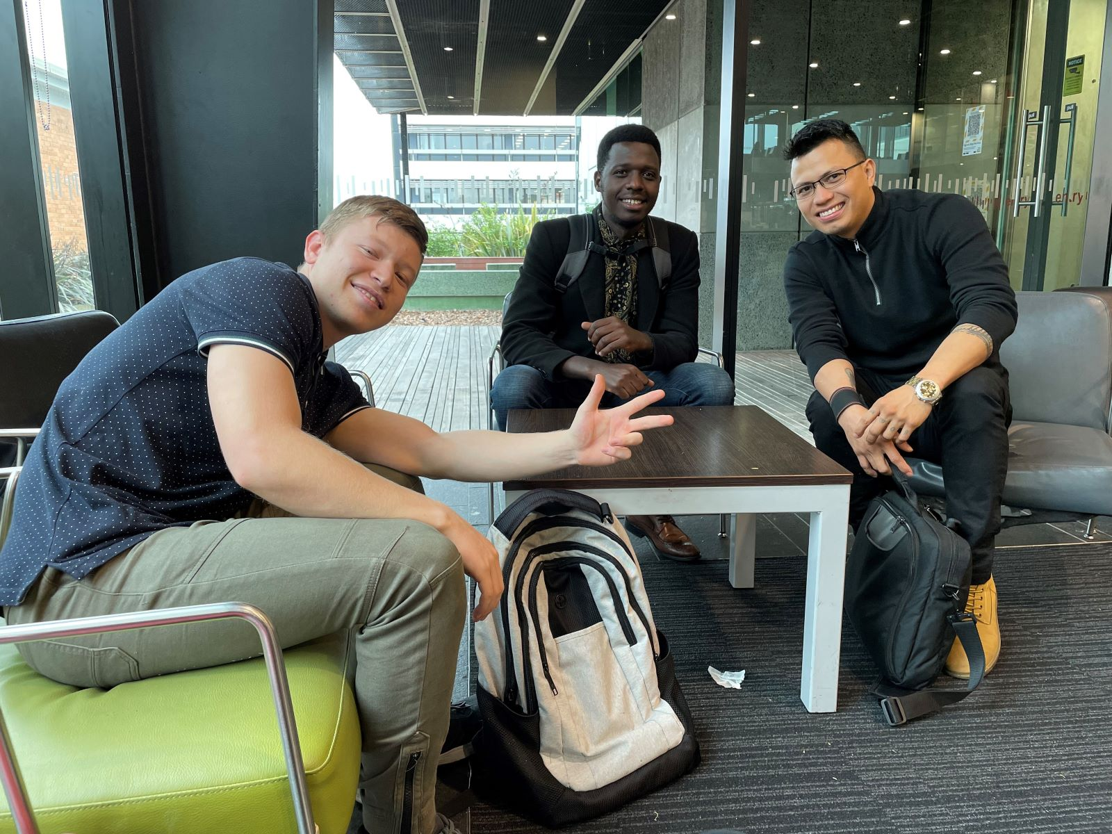 Former refugees Alisina, Hegimayi and Jhon all say they are getting supported beyond their expectations at Wintec
