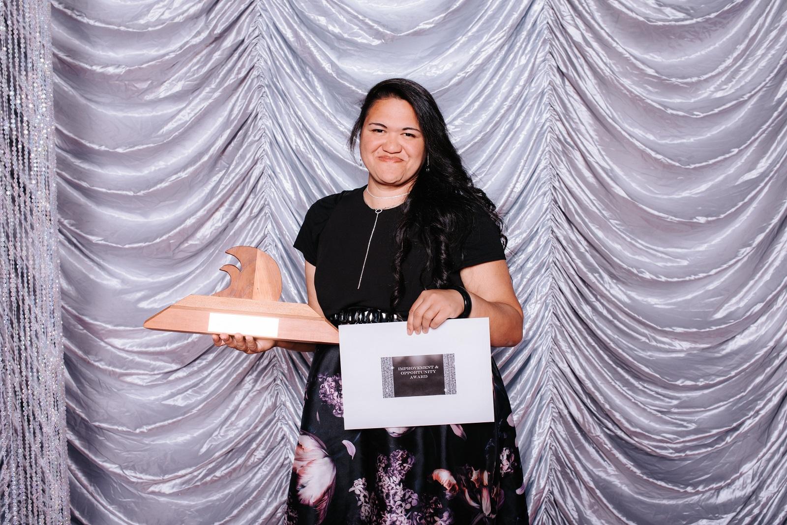 Reina at the Wintec 2018 Staff Awards