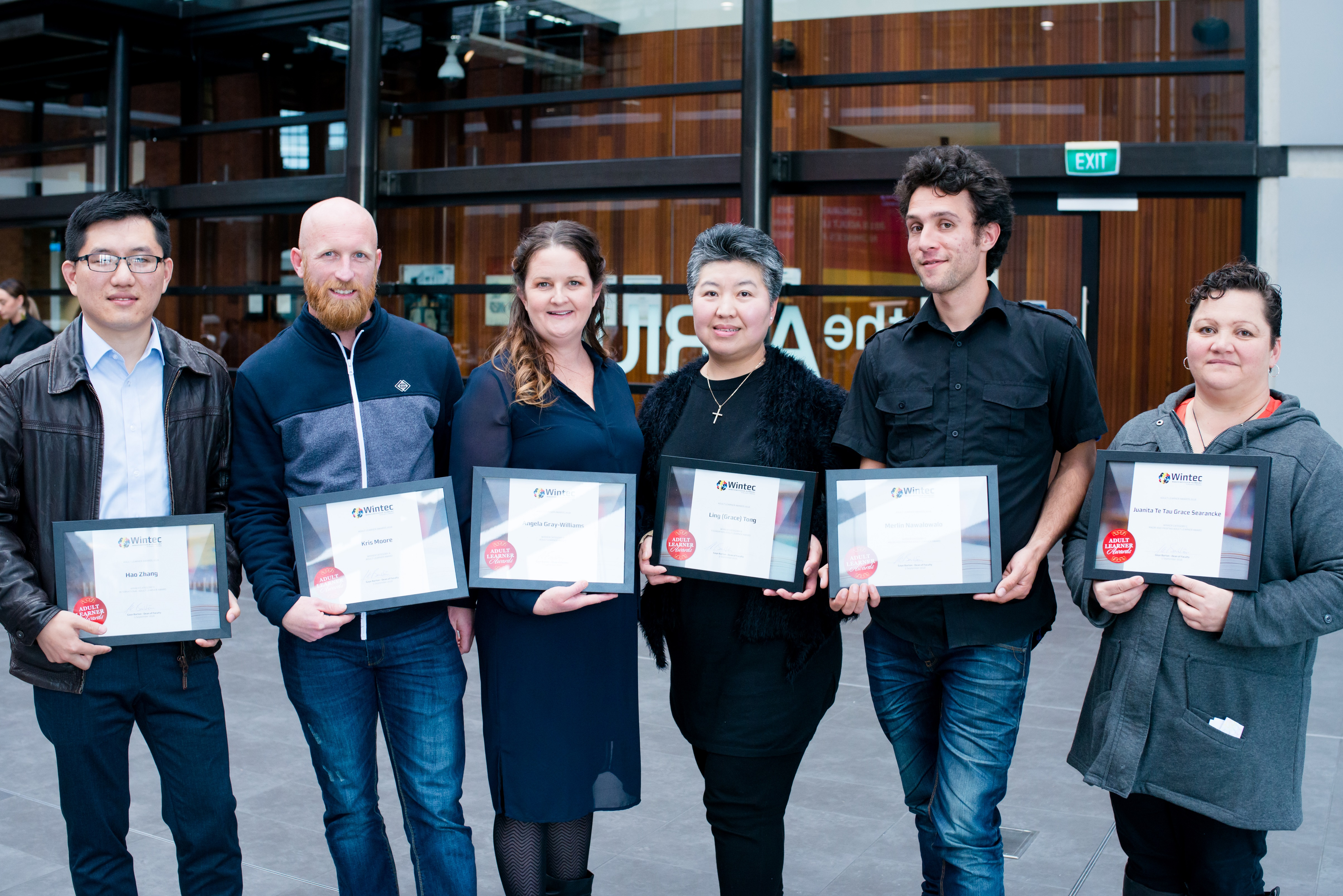 Wintec Student Learner Awards 2018 Winners